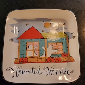 "Rosanna ""Haunted House"" serving platter"